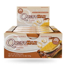 Quest Smores Protein Bars (2.12 oz. bars, 12 ct.)