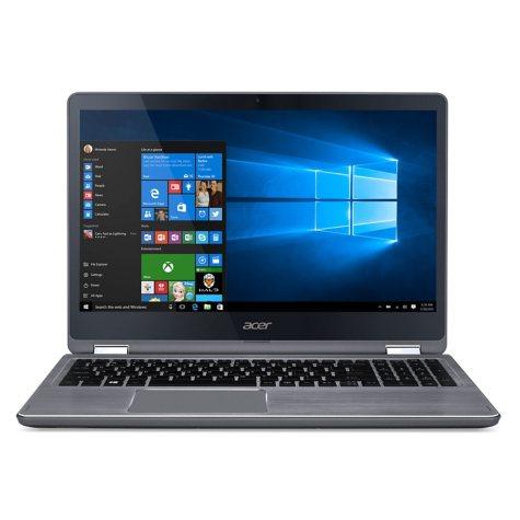 "Acer 2-in-1 Touchscreen Convertible 15.6"" Full HD IPS Notebook, Intel Core i7-7500U Processor, 12GB Memory, 1TB Hard Drive, Windows 10 Home"