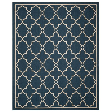 Safavieh Resort Collection Belle Mare Yale Blue Area Rug 8' x 10'