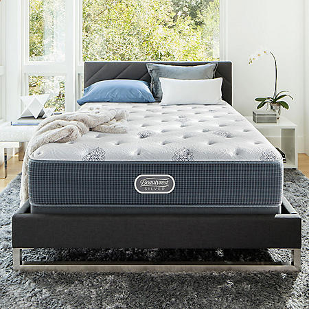 Beautyrest Silver Open Seas Luxury Firm King Mattress