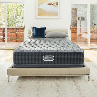 Beautyrest Silver Charcoal Coast Extra Firm Twin Xl Mattress Sam S Club
