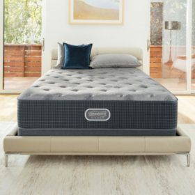 Beautyrest Silver Charcoal Coast Luxury Firm Queen Mattress