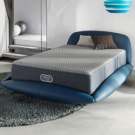Beautyrest Silver Hybrid Harbour Beach Ultimate Plush Queen Mattress Set