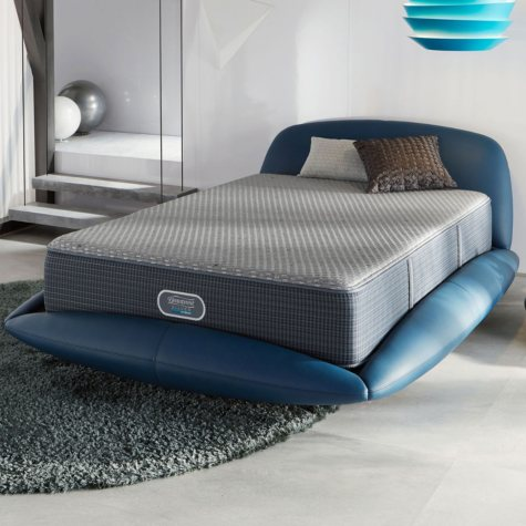 Beautyrest Silver Hybrid Harbour Beach Ultimate Plush Queen Mattress Set