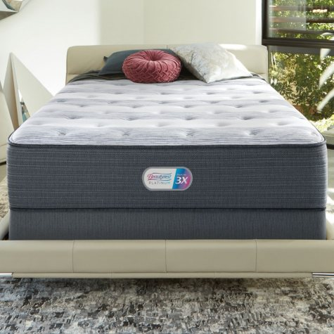 Beautyrest Platinum Haven Pines Plush Queen Mattress