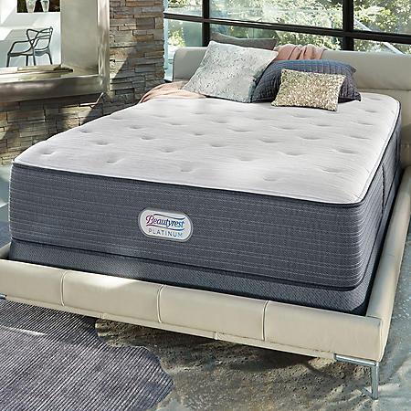 Beautyrest Platinum Spring Grove Luxury Firm Queen Mattress Set