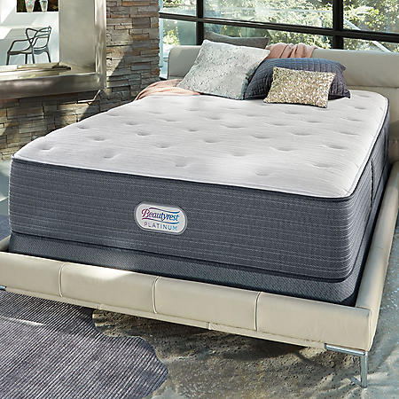 Beautyrest Platinum Spring Grove Plush Queen Mattress Set