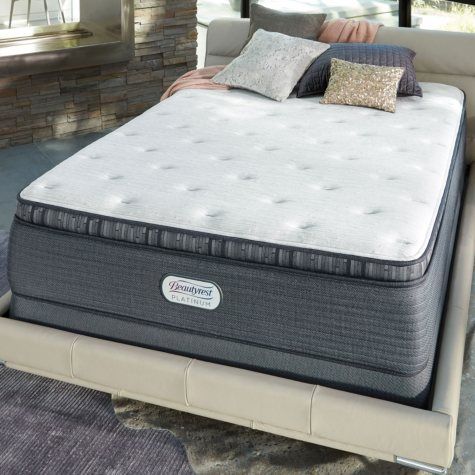 Beautyrest Platinum Spring Grove Luxury Firm Pillowtop King Mattress Set