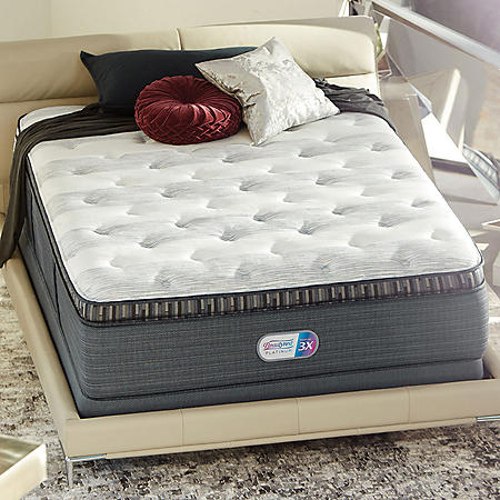 Beautyrest Platinum Haven Pines Plush Pillowtop California King Mattress Set