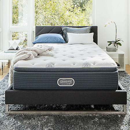 Beautyrest Silver Open Seas Plush Pillowtop Queen Mattress
