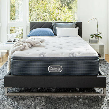 Beautyrest Silver Open Seas Plush Pillowtop King Mattress