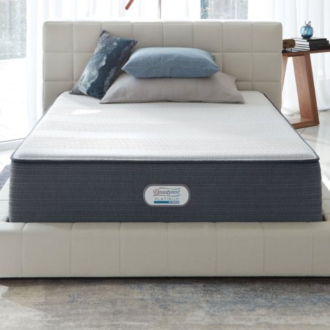 Beautyrest Platinum Hybrid Brayford Creek Luxury Firm Queen Mattress Set