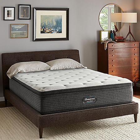 Beautyrest Silver Kayden Queen Plush Mattress