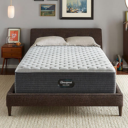 Beautyrest Silver Dearborn California King Extra Firm Mattress Set