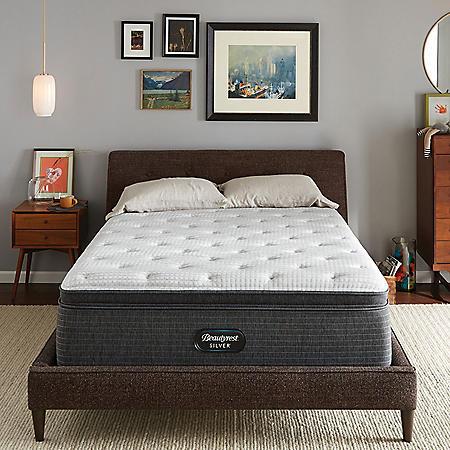 Beautyrest Silver Dearborn Queen Medium Pillow Top Mattress Set