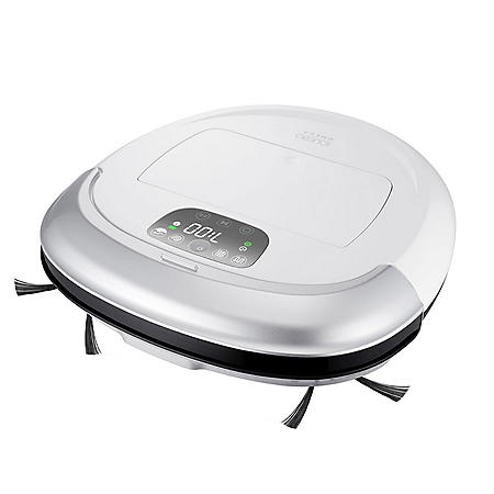 iClebo Omega Robotic Vacuum Cleaning Robot, White