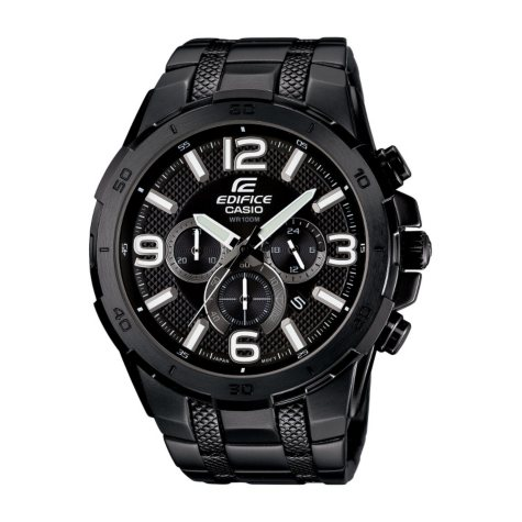Men's Casio Edifice Multi-Function Watch with Link Bracelet