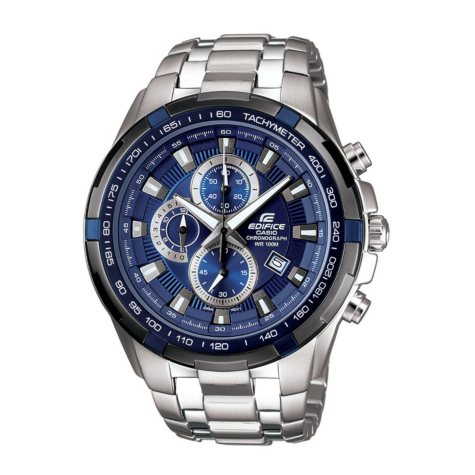 Men's Casio Edifice Stainless Steel Multi-Function Watch