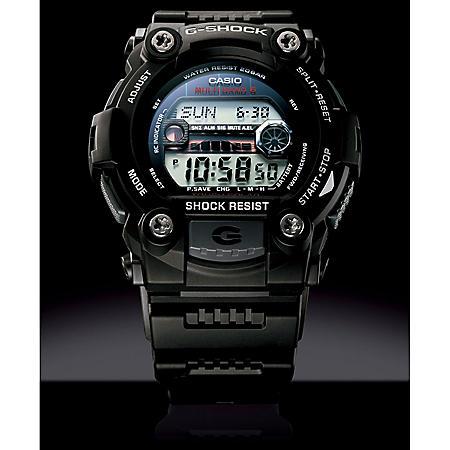 Casio Atomic Tough Solar G-Shock Watch