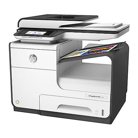 HP PageWide Pro 477DW Multifunction Inkjet Printer