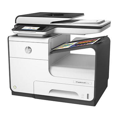 HP PageWide Pro 477dw Multifunction Inkjet Printer, Copy/Fax/Print/Scan