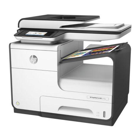 HP PageWide Pro 477dw Multifunction Inkjet Printer, Copy/Fax/Print/Scan