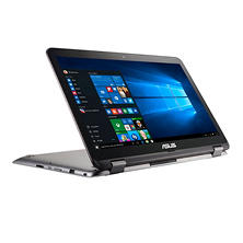 "ASUS Convertible 2-in-1 Full HD Touchscreen 15.6"" Notebook, Intel Core i5-7200U Processor, 8GB Memory, 1TB + 128GB SSD Hard Drive, 2GB Nvidia 940MX Graphics, Windows 10 Home"