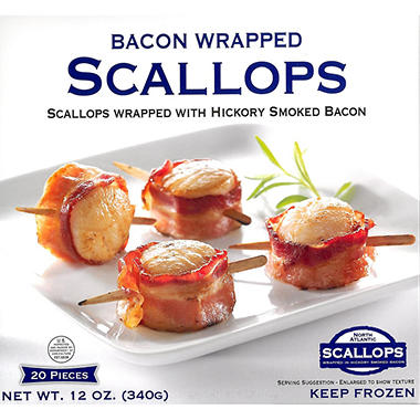 J. Scott Foods Bacon Wrapped Scallops (20 ct.)