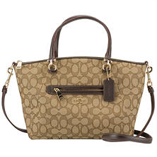 Women's Prairie Signature Canvas Satchel by COACH