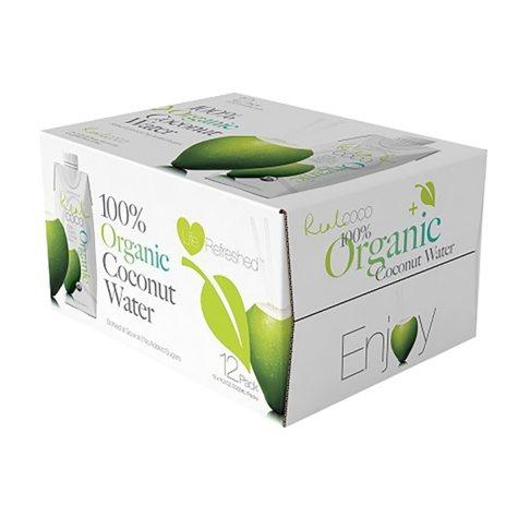 Real Coco 100 % Organic Coconut Water (11.2 oz., 12 pk.)