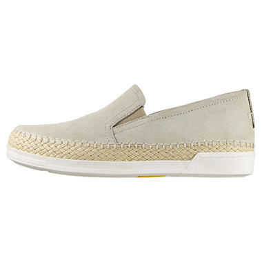 Trivict Slip-On Perforated Suede Sneaker
