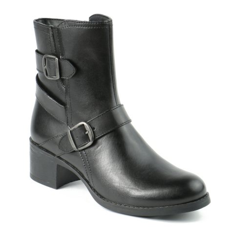 Zoey Leather Ankle Boot