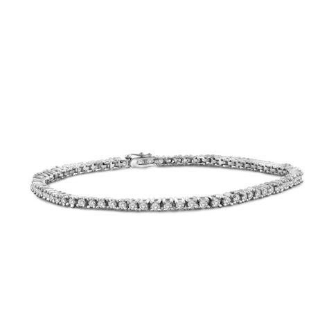 2.00 CT. T.W. Diamond Tennis Bracelet in 14K White Gold