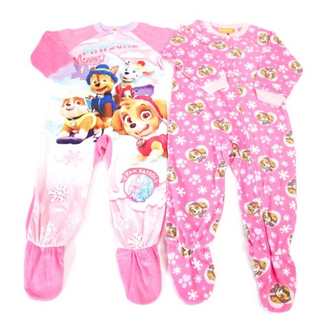 Paw Patrol 2-For Footed Blanket Sleeper