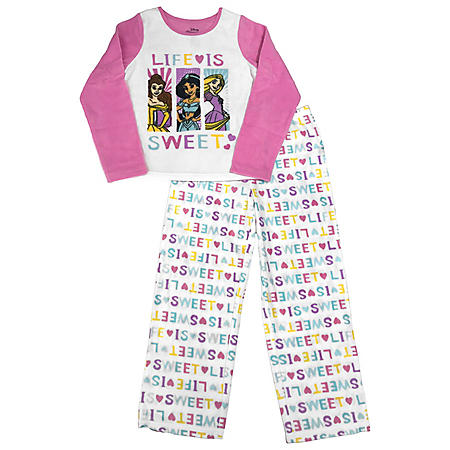 Character 3-Piece Fleece Pajama Set with Hooded Robe
