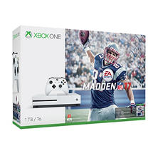 Xbox One S 1TB Madden NFL 17 Console Bundle