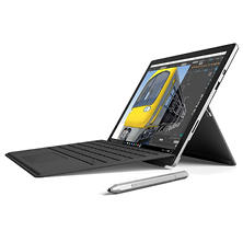 "Microsoft Surface Pro 4 i5 Bundle: Touchscreen 12.3"" Device with Intel Core i5 Processor, 8GB Memory, 256GB SSD Hard Drive, Surface Pen, Black Type Cover, Office 365 1yr"