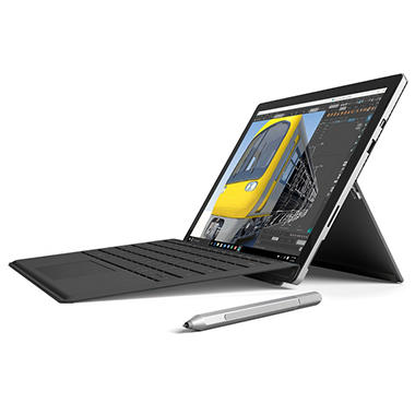 Microsoft Surface Pro 4 i5 Bundle: Touchscreen 12.3