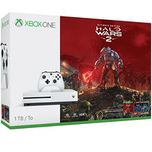 Xbox One S 1TB Halo Wars 2 Console Bundle