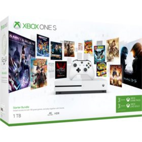 Xbox One S Starter Bundle (1TB)