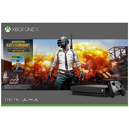 Xbox One X 1TB Playerunknown's Battlegrounds Bundle
