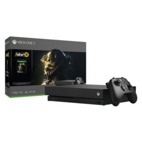 Xbox One X 1TB Fallout 76 Console and Game Bundle
