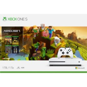 Xbox One S Minecraft Creators Bundle 1TB