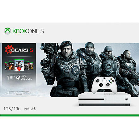 Xbox One S 1TB Gears Of War 5