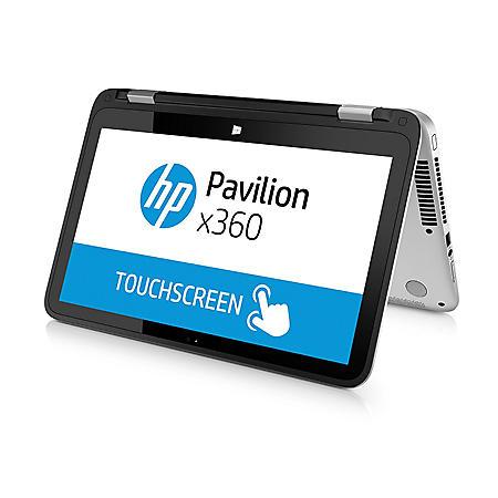 "HP Pavilion Convertible Touchscreen HD WLED  X360 13.3"" Notebook, Intel Core i3-4030U, 8GB Memory, 1TB Hard Drive, Windows 10, with Beats Audio"