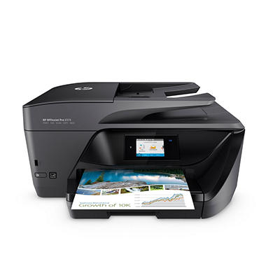 Hp Officejet Pro 6975 All In One Printer Sams Club