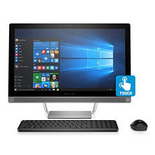 "HP Pavilion 23.8"" HD IPS All-in-One Desktop, AMD A9-9410 Processor, 8GB Memory, 1TB Hard Drive, HD Webcam, Wireless Keyboard and Optical Mouse, Windows 10 Home"