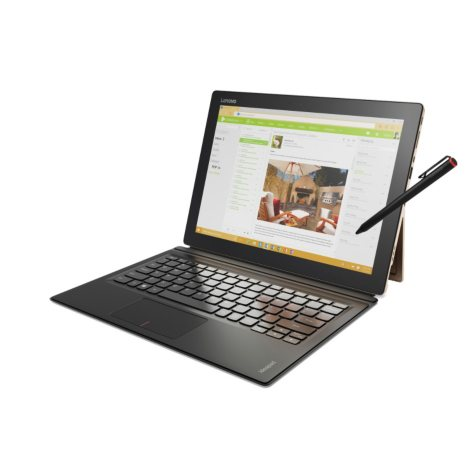 "Lenovo IdeaPad Miix 700 Touchscreen IPS 12""  Notebook 80QL0020US, Intel Core M5 Processor, 8GB Memory, 256GB SSD Hard Drive, Intel HD Graphics, IPS 2160 x 1440 Display, Windows 10 Pro"