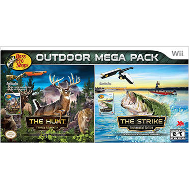 Bass Pro Shops Mega Bundle - Wii