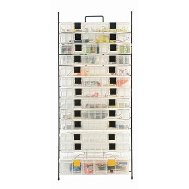 Large Utility Wire Box Organizer - Modular or Mounted
